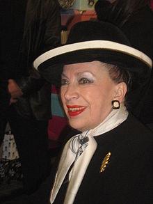 Geneviève de Fontenay à Château-Gontier, le 13décembre2009