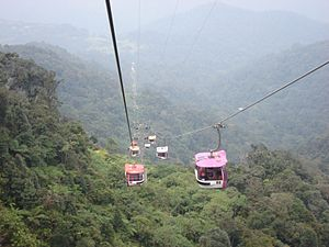 1997 in Malaysia - Genting Skyway.