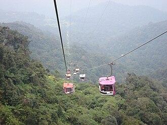 1997 in Malaysia - Genting Skyway.