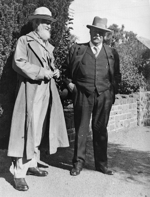 George Bernard Shaw and Sir Joseph James Kinsey
