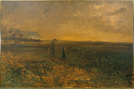 George Fuller - Twilight on the Prairie - Google Art Project