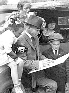 George Herriman and fans