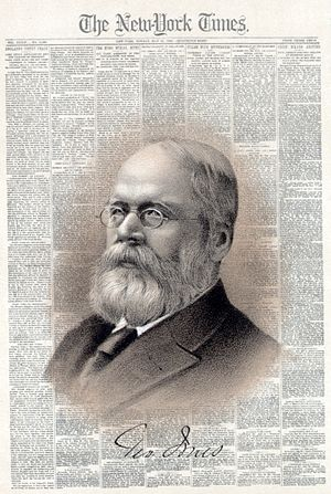 George Jones (publisher) - George Jones and The New York Times in 1885