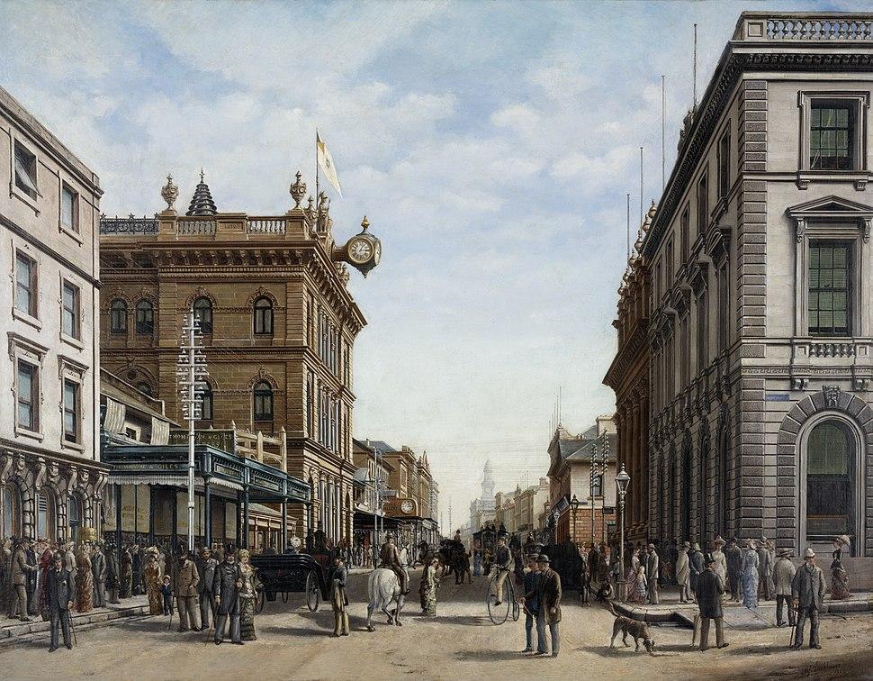 George Street Sydney 1883