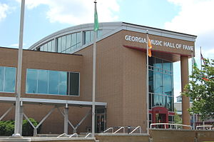 Georgia Music Hall of Fame - Georgia Music Hall of Fame building