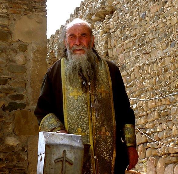 Georgischer Priester