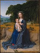Gerard David - The rest on the flight into Egypt (Metropolitan Museum of Art).jpg