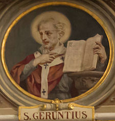 Gerontius bishop of Milan.JPG