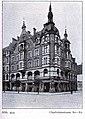 Geschäftshaus der ehemaligen Baufachausstellung an der Charlottenstraße 80–82 im Düsseldorf, erbaut1893 bis 1894, Architekt Emil Woker.jpg
