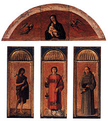 Triptych of Saint Lawrence
