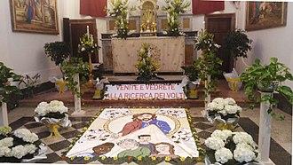 Altar of repose - Altar of Repose, Church of Saint Francis of Assisi (Alcamo), 2018