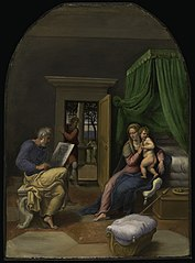Saint Luke Drawing the Virgin and Christ Child