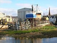 Girvan shipyard, Ayrshire