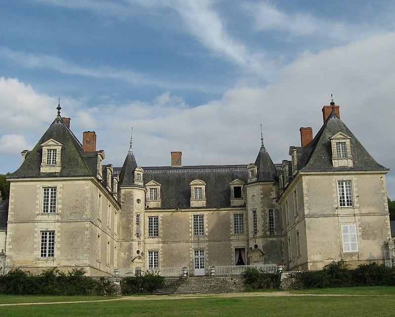 Gizeux, Indre et Loire, château bu IMG 1490.jpg