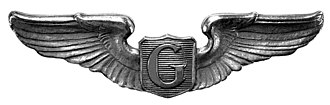 Auxiliary Pilot Badge - Image: Glider Pilot 2