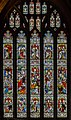 Gloucester Cathedral, Stained glass window (21777382848).jpg