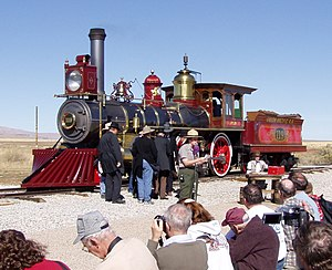 Golden Spike National Historic Site - Recreations of the Golden Spike ceremony are performed on a seasonal schedule.