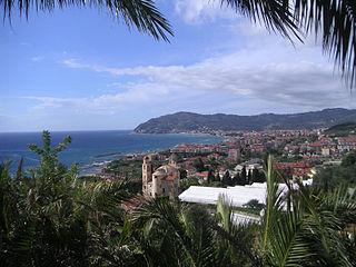 Diano Marina municipality in Liguria, Italy