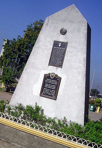 Gomburza - Execution site of the Gomburza in what is now Rizal Park, Manila.
