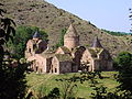 Goshavank monastery complex general wiev from south (from shrine og Mkhitar Gosh).jpg