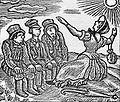 Gottfried Keller - Züs Bünzlin predigt den 3 Kammmachern - Holzschnitt - Ernst Würtenberger.jpg