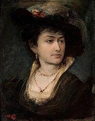 Portrait of artist's sister - Anna.