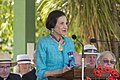 Governor of New South Wales Professor Marie Bashir giving the address at the Centenary of the Kangaroo March launch.jpg