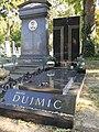 Grab von Hansi Dujmic auf dem Wiener Zentralfriedhof.JPG