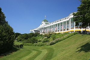 Mackinac Island, Michigan - Grand Hotel