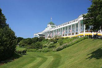 Mackinac Island, Michigan - Grand Hotel