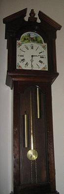 Pendulum clock - Wikipedia