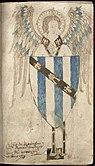 Grandisson Coat of Arms in Grandisson Psalter.jpg