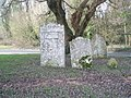 Gravestones by the A32 - geograph.org.uk - 1124714.jpg