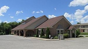 Highland County, Ohio - Image: Greenfield, Ohio Library