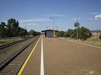 Greenfields railway station - Image: Greenfields Railway Station Adelaide