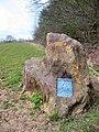 Greensand Ridge Marker Stone - geograph.org.uk - 154149.jpg