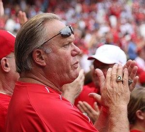 Greg Luzinski - Luzinski at a Washington Nationals / Philadelphia Phillies game at Nationals Park on August 21, 2011