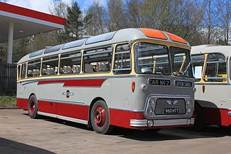 Devon General - A Grey Cars coach as operated by Devon General in the 1960s