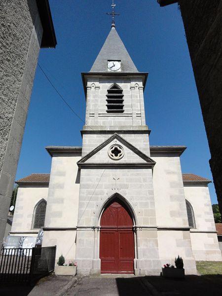 Grimaucourt-près-Sampigny (Meuse) église