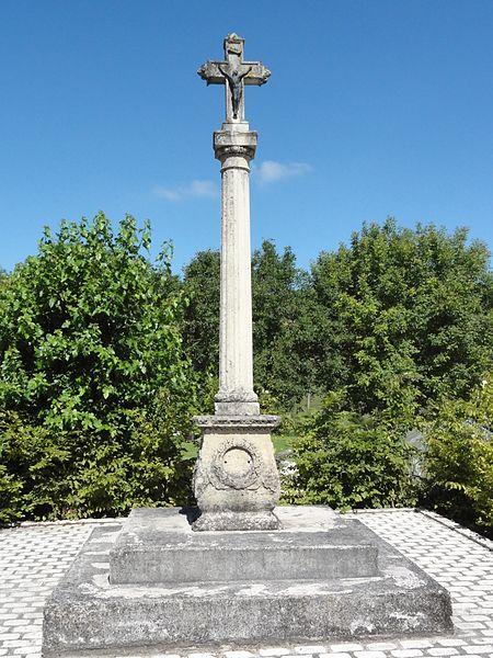 Grimaucourt-près-Sampigny (Meuse) croix de chemin