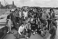 Groep zigeuners die gisteren bij Hoevelaken de snelweg blokkeerden staan nu op h, Bestanddeelnr 931-5797.jpg