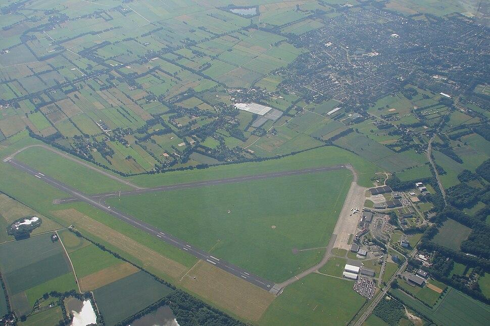Groningen Airport Eelde overview