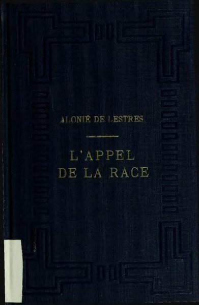 File:Groulx - L'appel de la race, 1923.djvu