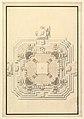 Ground Plan for a Catafalque for Leopold, Duke of Lorraine (d. 1729) MET DP820098.jpg