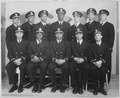 Group of recently appointed Negro officers. Eleven of these men were recently appointed to the temporary rank of... - NARA - 520671.tif