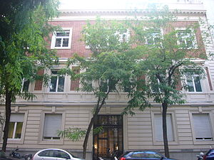 Puig (company) - Former Puig headquarters, in Travessera de Gràcia, Barcelona