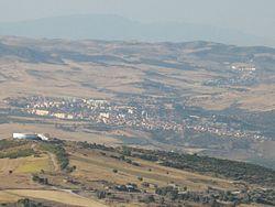 Guelma as seen from Ben Djerrah