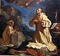 Guercino, san bruno in adorazione della madonna in gloria, 1647, da s. girolamo della certosa 03.jpg