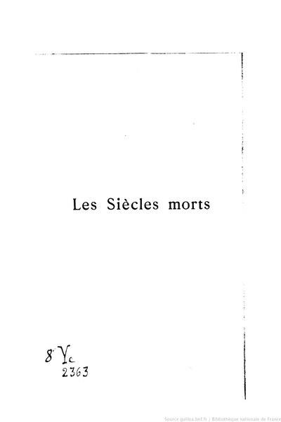 File:Guerne - Les Siècles morts, II, 1893.djvu