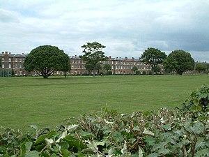 Eastney Barracks - Gunners Row - the former barracks